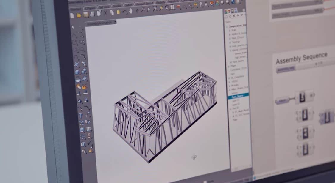 estructuras madera por ordenador