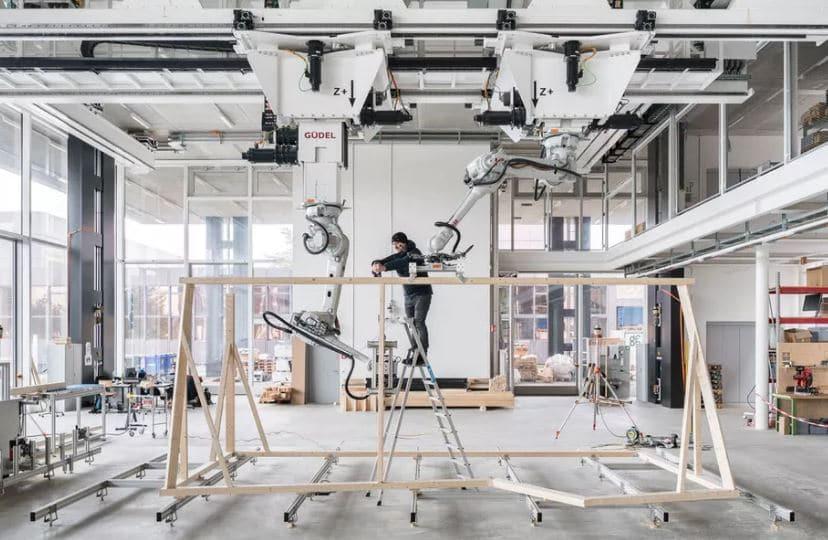 robots para estructuras madera