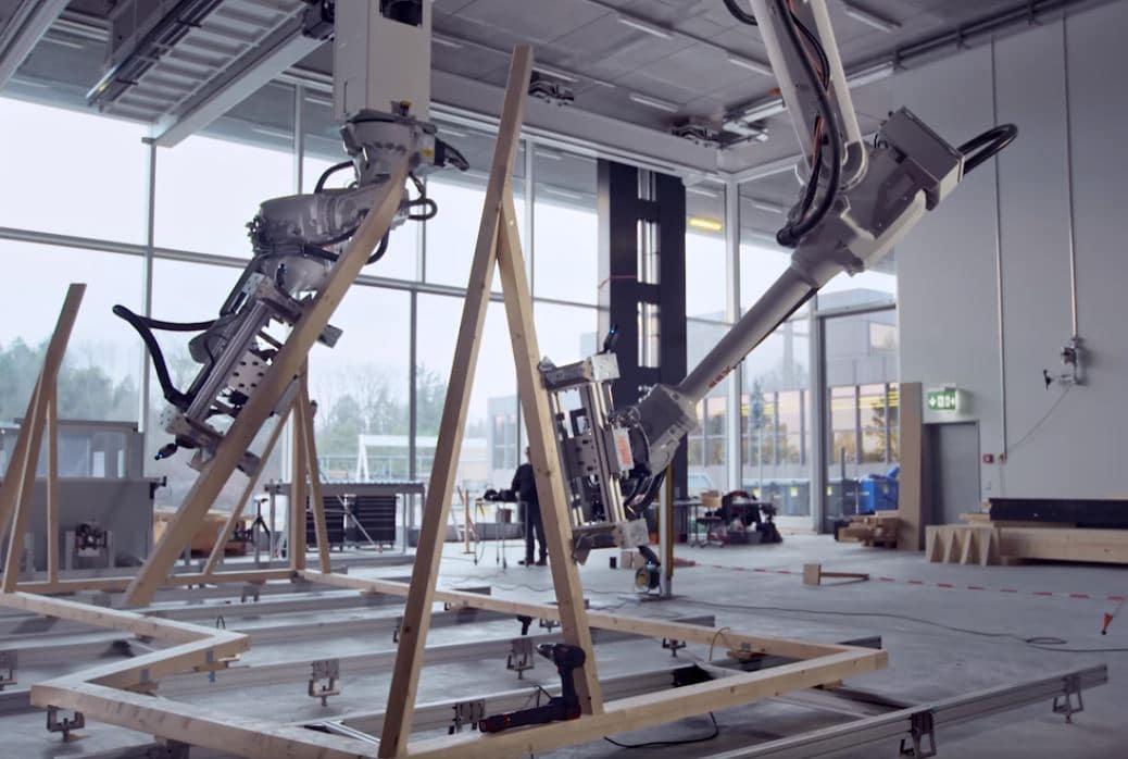 robots para obras madera
