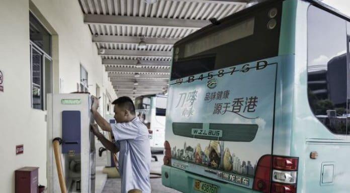 autobús eléctrico