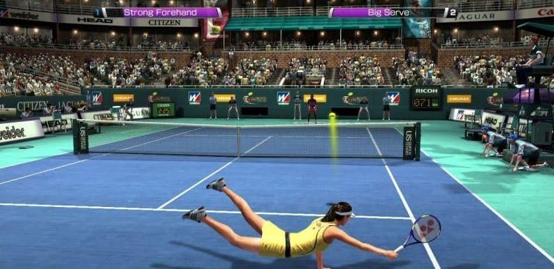 juego online de tenis