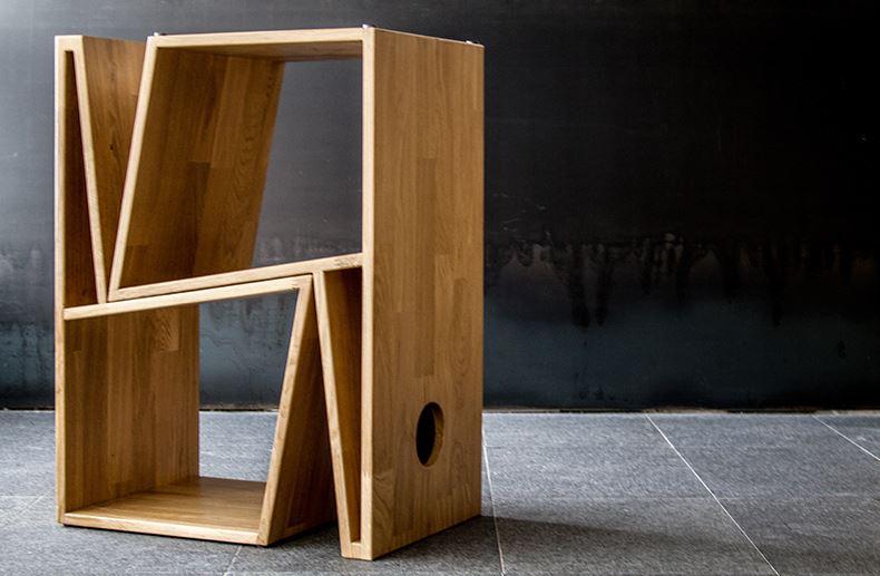 silla geométrica