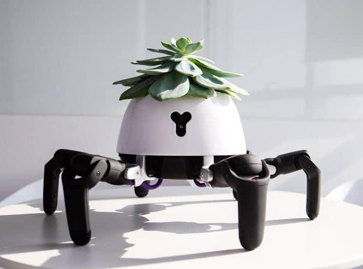 el robot araña