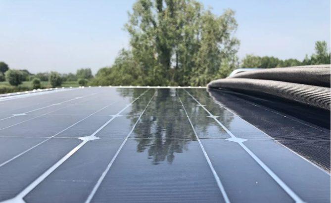 cubierta solar para caravana