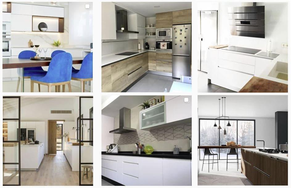 fotografías e imágenes de cocinas modernas para inspirarnos