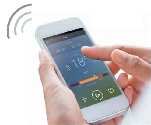 wifi control termostatico