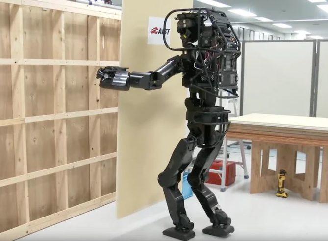 robot humanoide para construcción