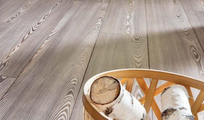 el piso o suelo laminado