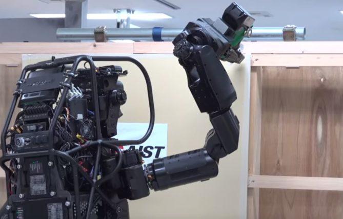 trabajo robots en la construcción