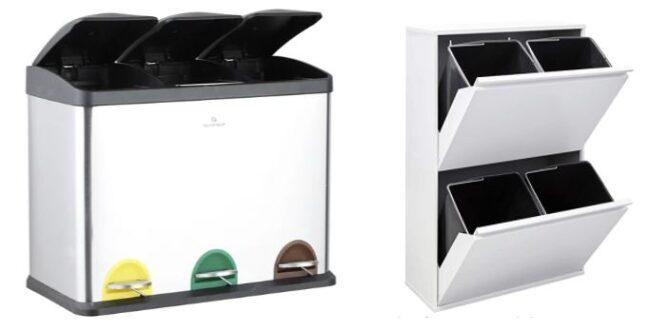 comprar cubos reciclaje para casa