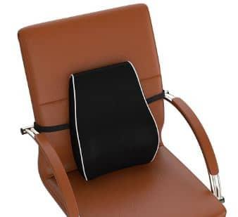 cojin lumbar en sillas