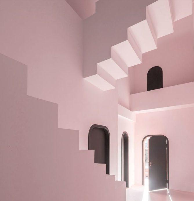 habitaciones hotel rosa