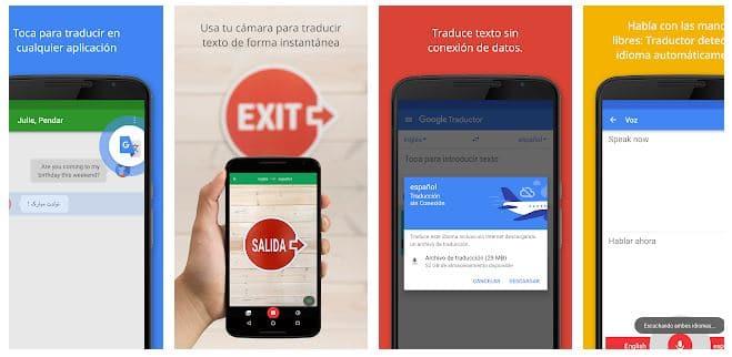 app del traductor google