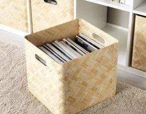 cajas para organizar piso