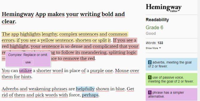 correcciones gramaticales al traducir