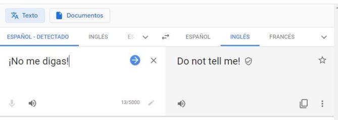 evitar frases en google traductor