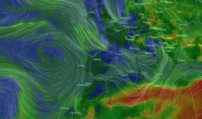 mapa contaminación atmosférica planeta