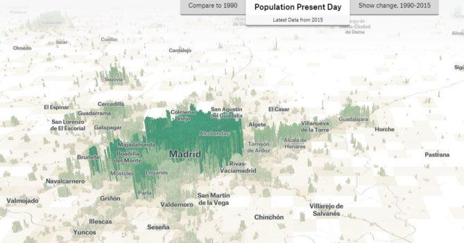 mapa de densidad población