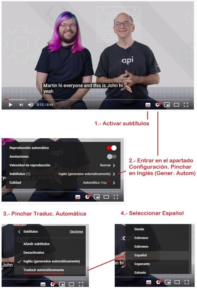 cómo traducir vídeos