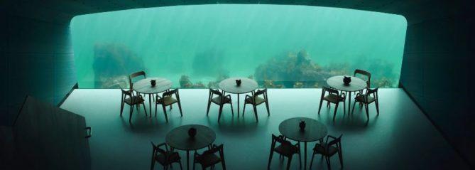 vistas comedor bajo agua