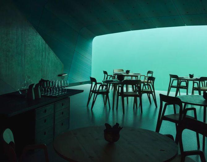 vistas restaurante submarino