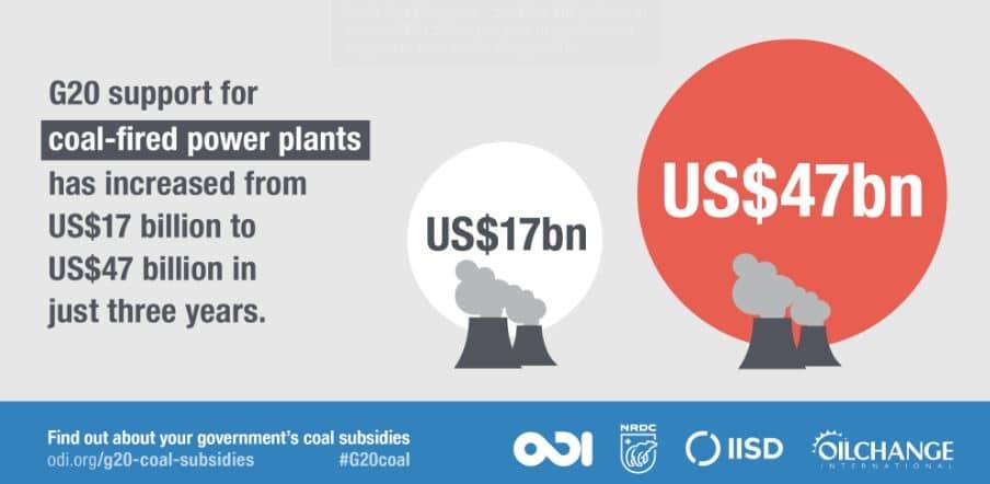 aumento dinero carbón