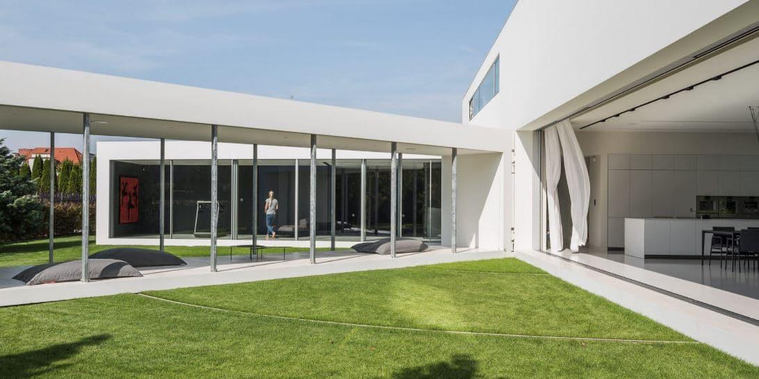 casa con terraza cinética