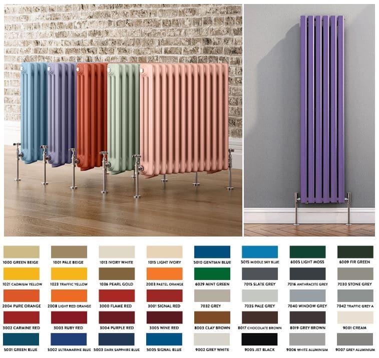 colores radiadores de diseño
