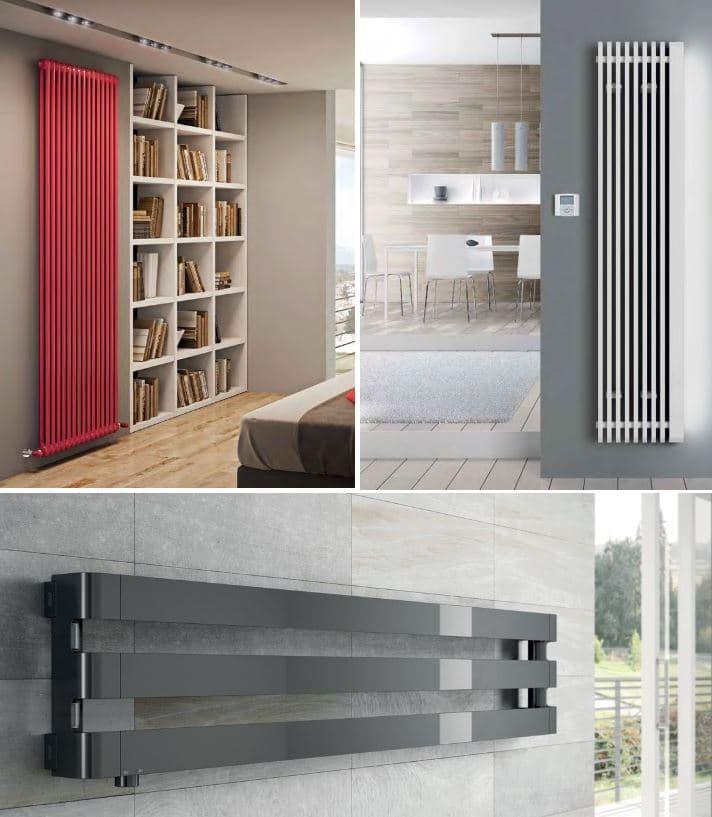 radiadores verticales diseño