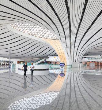 aeropuerto china de zaha hadid architects