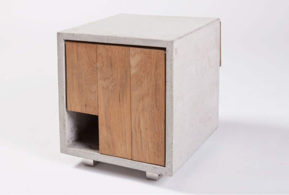Houses and beds for cats with design - concrete house for cats