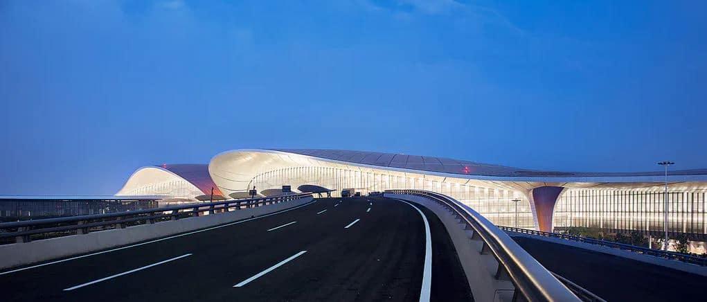 exterior aeropuerto china
