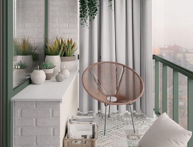 decoración de balcones pequeños