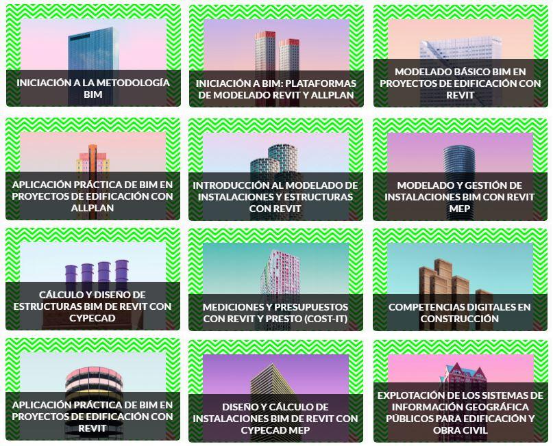 cursos gratis en bim Building Information Modeling