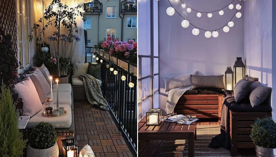 iluminar balcones