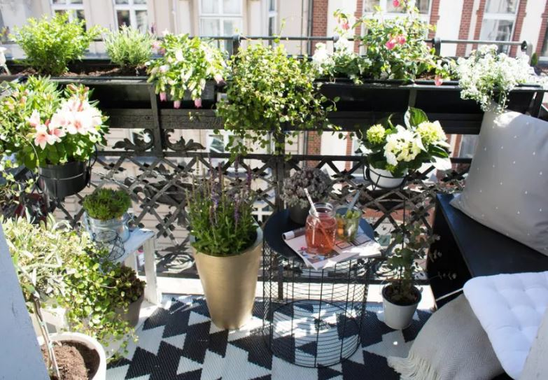 mobiliario para balcones