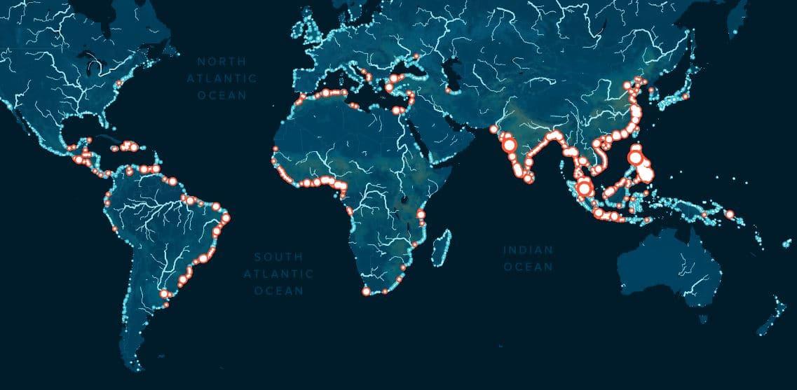 ríos mas contaminados plastico