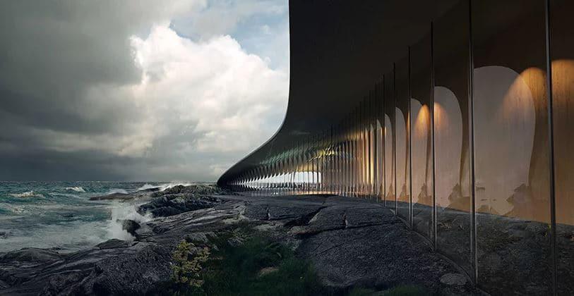 arquitectura para observar océano