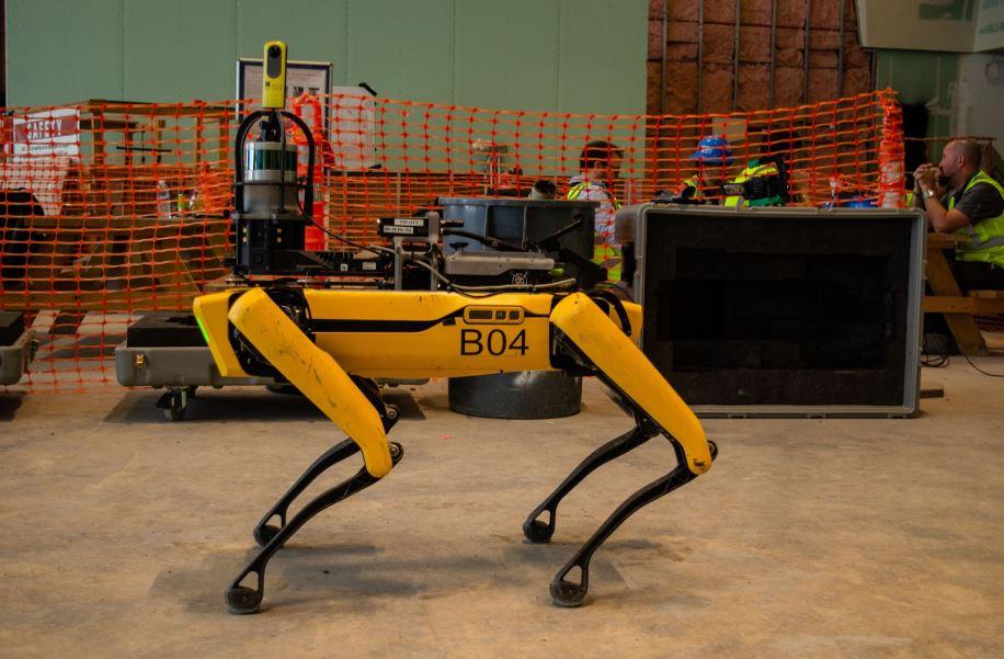 robot para construcción de obras