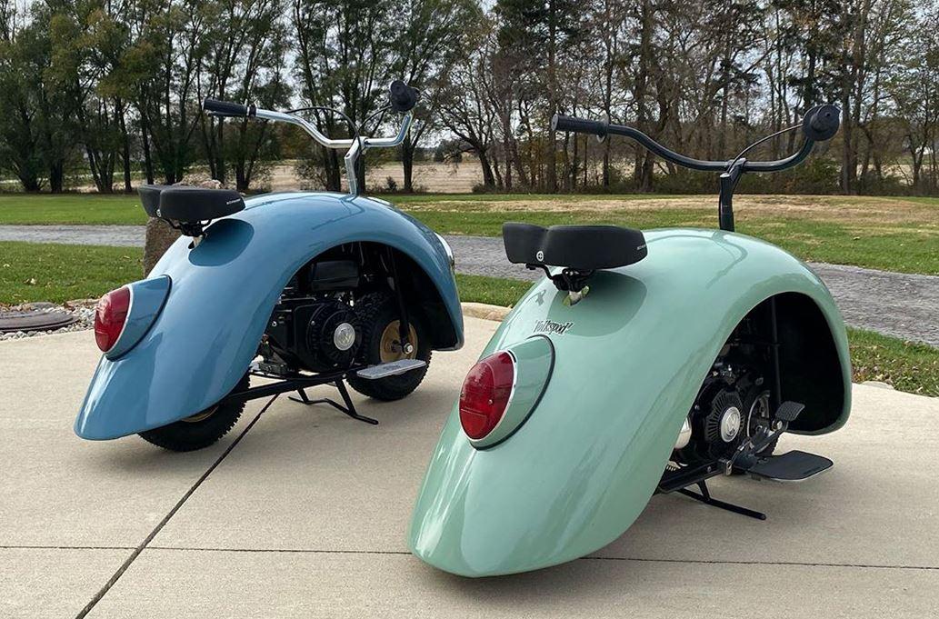volkswagen escarabajo bicicleta