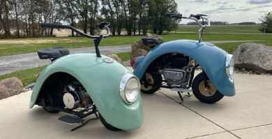 volkswagen mini motocicleta
