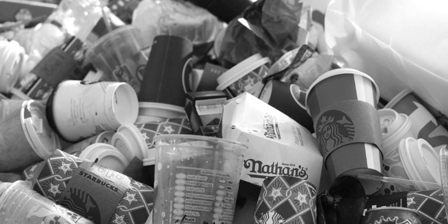 mentalidad de reciclaje en el trabajo
