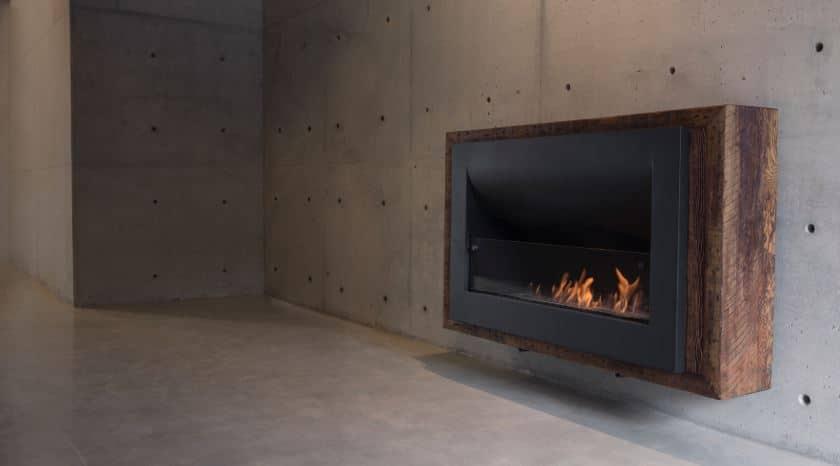 chimeneas ambiente y estilo moderno