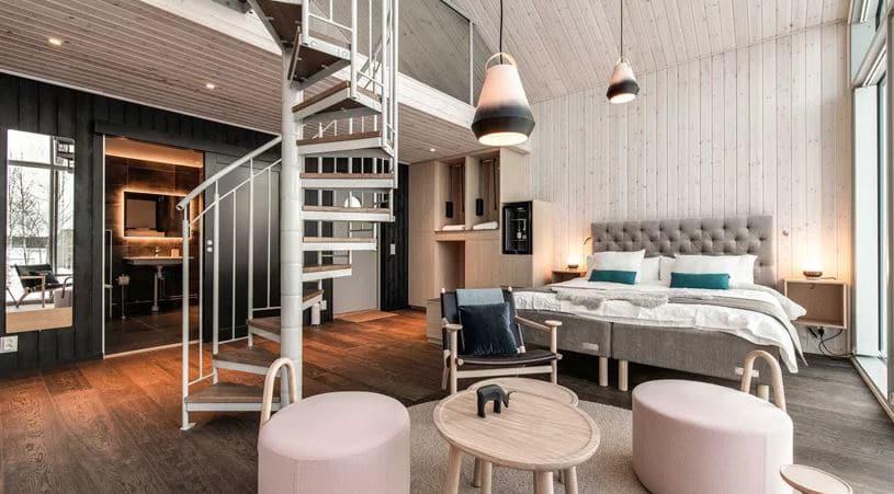 decoración interior escandinava