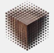 diseño paramétrico de un cubo