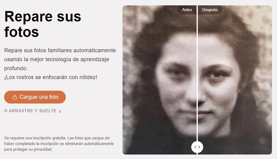 cómo restaurar fotos antiguas dañadas