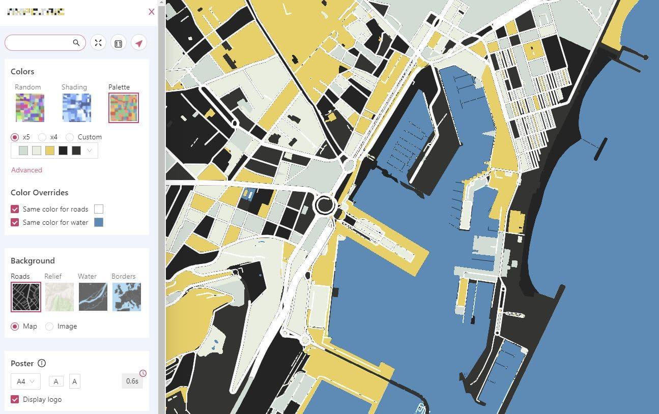 crear mapas online