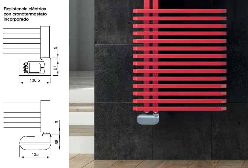 radiadores toalleros mixto