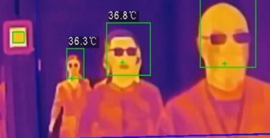 cámaras de termografía