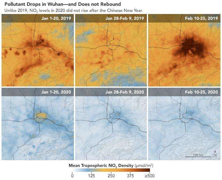 comparativa contaminación china